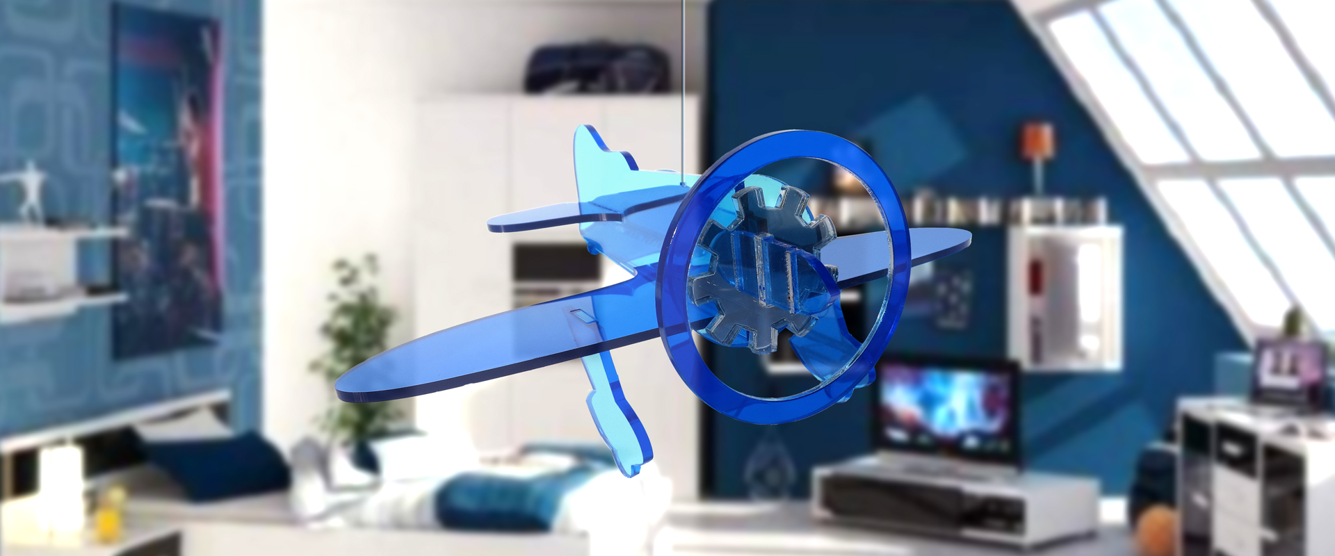 Gee Bee | Blue on Blue